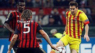 Milan-Barça, tablas en San Siro
