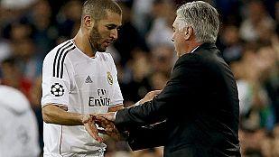 Casillas se luce y Benzema vuelve a naufragar