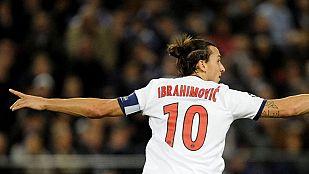 'Ibra' logra cuatro de los cinco goles del PSG al Anderlecht