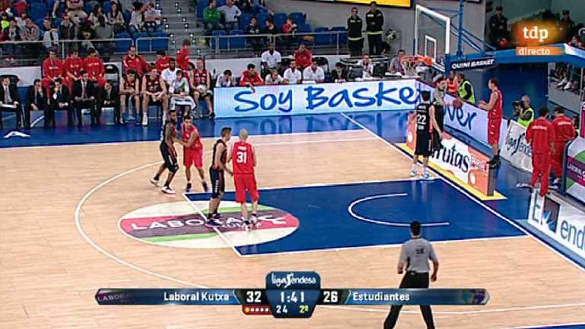 Baloncesto - Liga ACB: 3ª Jornada: Laboral Kutxa-Estudiantes - Ver ahora