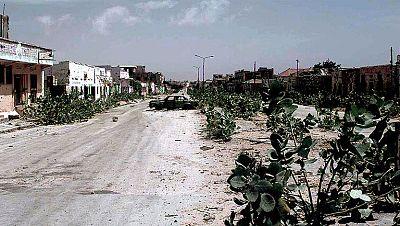 Tras la caída del presidente Barré en 1991, los diferentes grupos rebeldes pugnan por el poder en Mogadiscio, iniciando una cruenta guerra civil que aún sigue en uno de los países más castigados de África.
