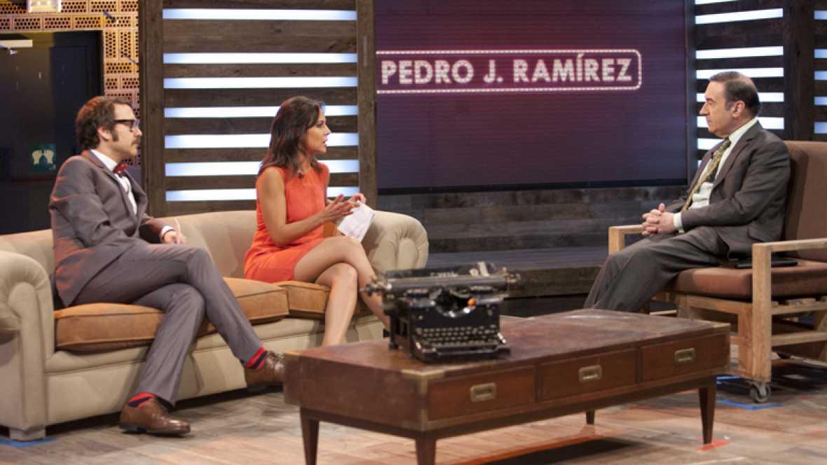 Entrevista a Pedro J. Ramírez, director de El Mundo - Ver ahora