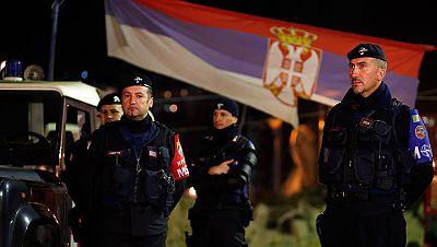 Incidentes en las elecciones en Kosovo