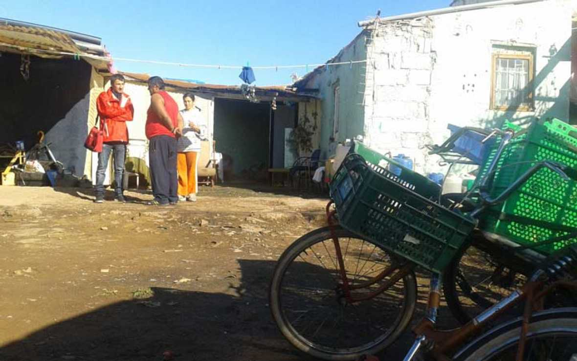 Babel en TVE - Sobrevivir en un asentamiento