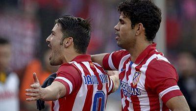 Villa y Diego Costa, la sociedad del gol en el Atlético