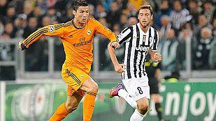 Madrid y Juve se reparten los puntos
