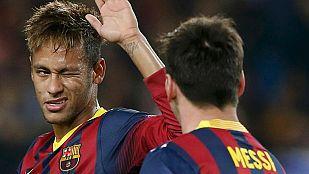 Neymar, decisivo ante el Milan sin marcar