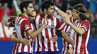 El Atlético, a octavos como primero de grupo