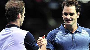 Federer endereza su rumbo ante Gasquet