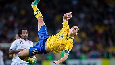 Ibrahimovic y Neymar compiten por el premio Puskas al mejor gol del año