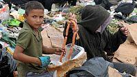 Reportaje sobre la falta de viviendas en la mayoría de los países donde existe hambre y miseria.