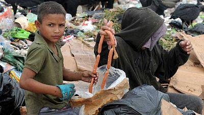 Reportaje sobre la falta de viviendas en la mayor�a de los pa�ses donde existe hambre y miseria.