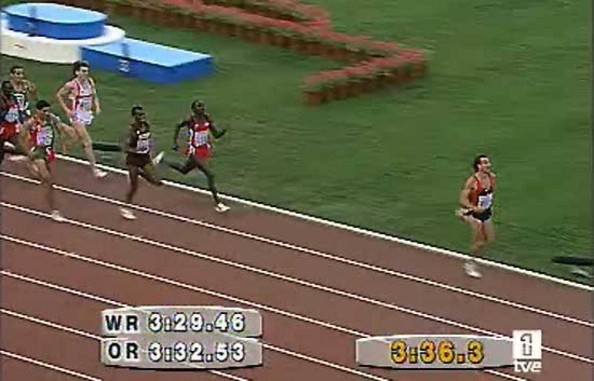 Fermín Cacho hizo historia en 1992 al conseguir en Barcelona el primer oro olímpico para el atletismo español