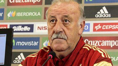 """Del Bosque: """"Nosotros solo somos futbolistas"""""""