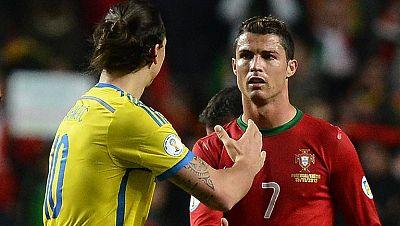 Ibrahimovic o Cristiano, solo puede quedar uno