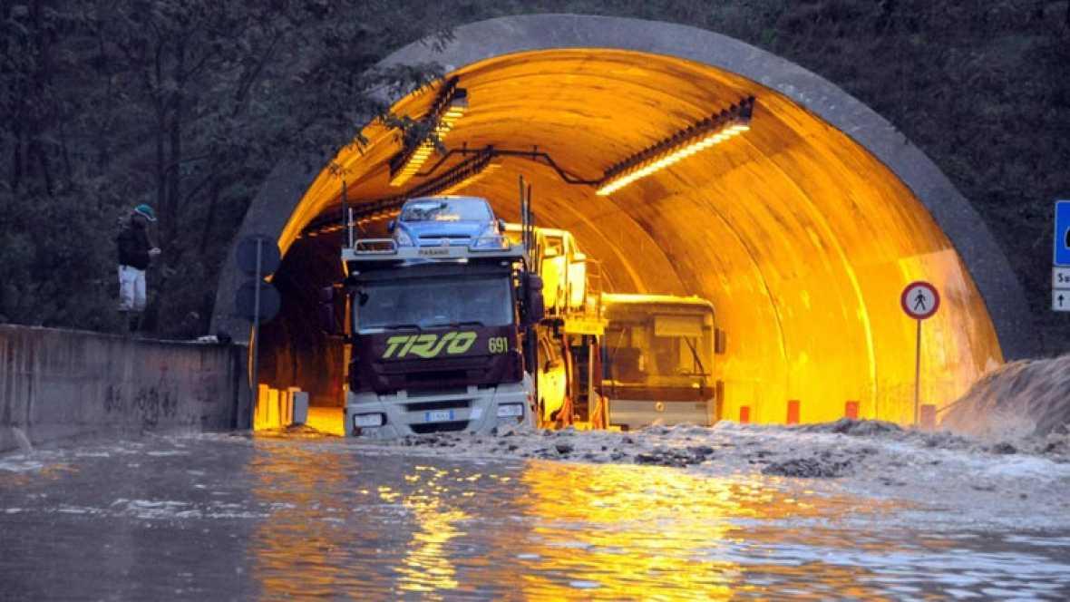 Cerdeña decreta el estado de emergencia tras el paso del ciclón Cleopatra, que deja 18 muertos