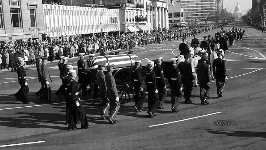 El funeral de JFK, la gran cobertura mediática de la época