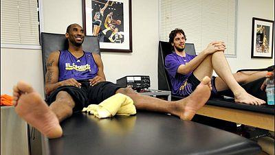 La estrella de Los Angeles Lakers Kobe Bryant ha recibido el alta médica como último paso a su reaparición en la NBA, siete meses después de romperse el tendón de Aquiles en un partido contra los Golden State Warriors.