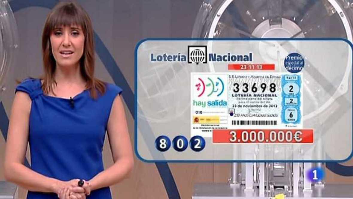 Lotería Nacional - 23/11/13 - Ver ahora
