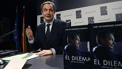 Zapatero se reivindica y hace autocrítica de sus 600 últimos días de gobierno