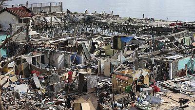 Exteriores ya ha localizado a todos los españoles afectados por el tifón en Filipinas