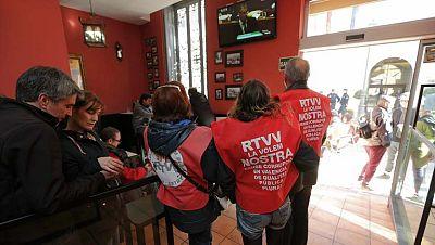 Las Cortes Valencianas aprueban la modificación de la Ley que permite el cierre de la Radio Televisión Valenciana