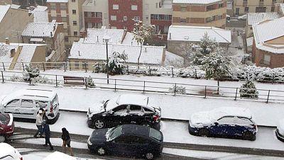 Nieva en España, en el sureste peninsular lo hará por encima de los 600 metros