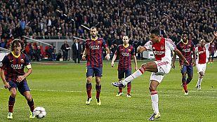 El Barça se hunde contra el Ajax