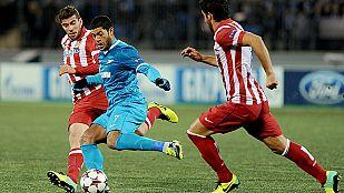 El Atlético empata en San Petersburgo