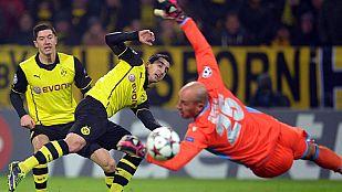 El Dortmund coge aire y el Chelsea pasa a octavos