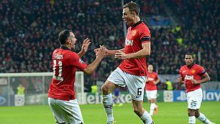 El Manchester United sella su pase a octavos con goleada