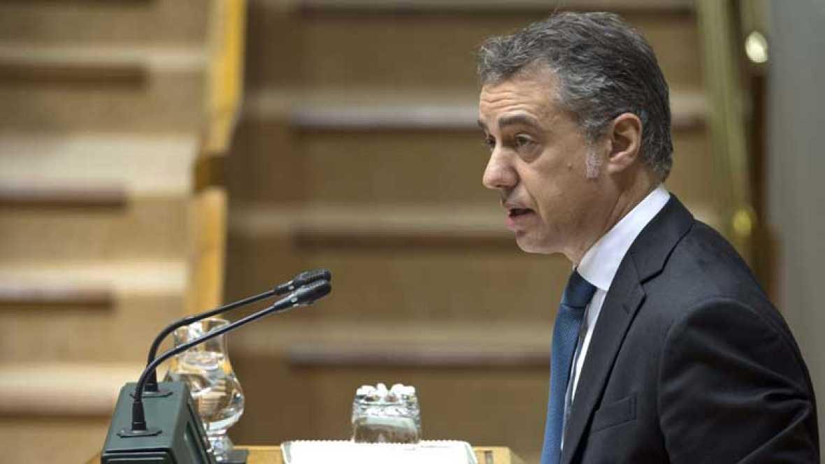 Urkullu exige a rajoy que rectifique las palabras del for Declaraciones del ministro del interior hoy
