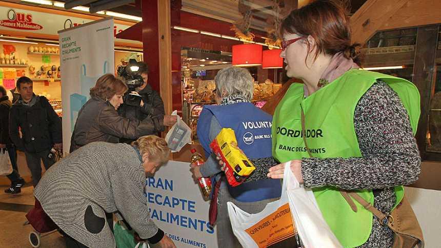 El Banco de Alimentos recoge 14 millones de kilos en la Gran Recogida