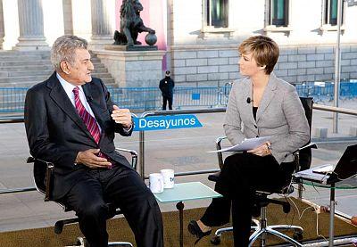 """Jesús Posada: """"La desafección es importante pero sigue habiendo interés por ver el Congreso"""""""