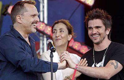 """Ingrid Betancourt ha pedido """"libertad para todos"""" al abrir un concierto en París a favor los rehenes colombianos"""