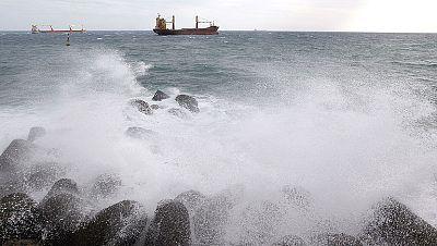 Alerta en Canarias por lluvias de hasta 60 litros en una hora y viendos de 100 kilómetros por hora