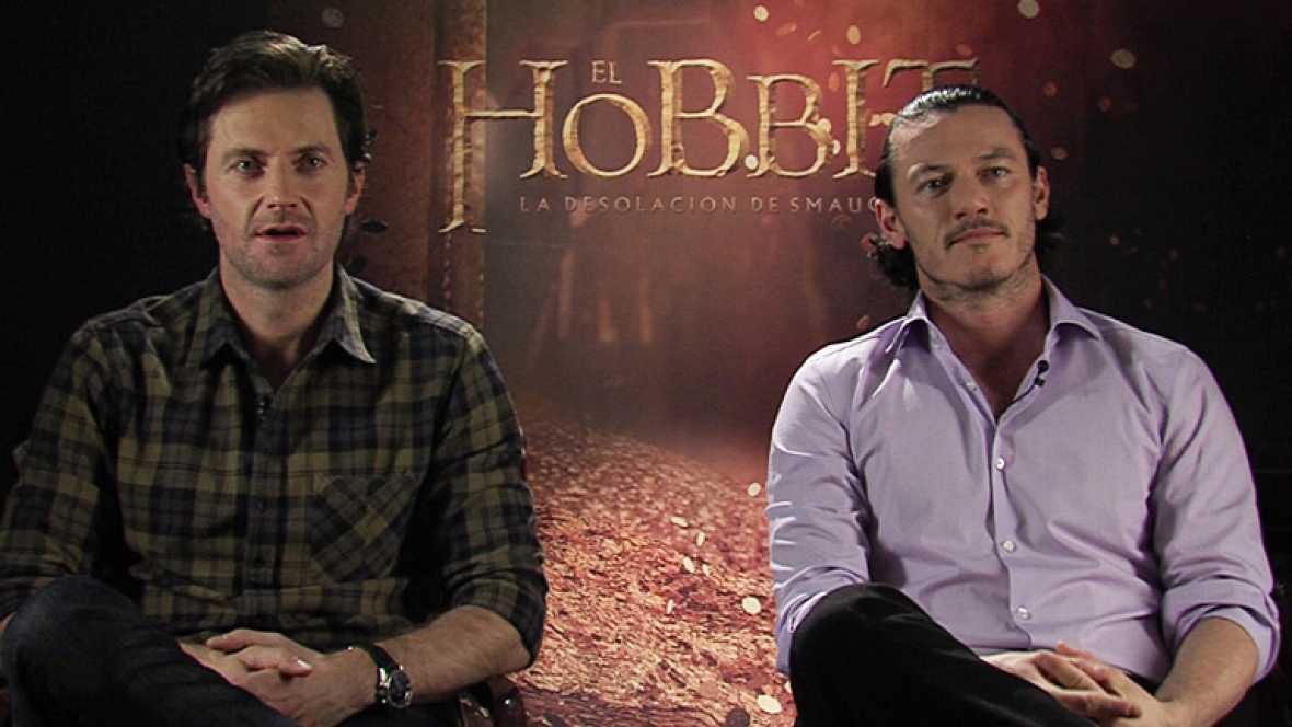 Richard Armitage y Luke Evans presentan en Madrid 'El Hobbit: La desolación de Smaug'