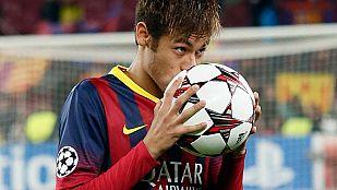 Neymar se gusta y se convierte en el verdugo del Celtic