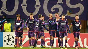 El Zenit acompaña al Atleti a octavos pese a ser goleado en Viena