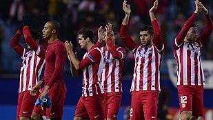 El Atlético de Madrid, en dinámica positiva