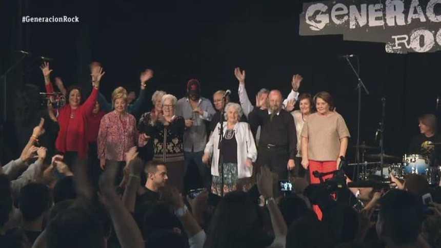 Generación Rock  - Mejores momentos programa 7 -  La banda se enfrenta al público adolescente