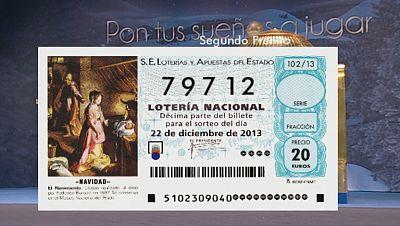 Vídeo del segundo premio, el 79.712, que se va íntegramente a Granadilla de Abona, en Tenerife