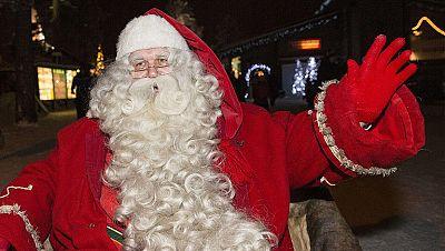 Papá Noel inicia su largo viaje desde Finlandia