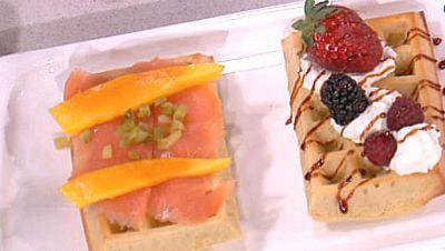 Saber cocinar - Postres - Gofres dulces o salados