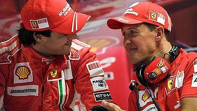 Pilotos de Fórmula 1 como Felipe Massa o Sebastian Vettel, así como otras personalidades del mundo del deporte, han mandado sus mensajes de ánimo para Michael Schumacher, que se encuentra en estado crítico tras sufrir un accidente esquiando.