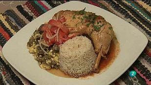 Babel en TVE - Sabores del mundo: Bolivia. Majadito y picante de gallina con aroma de Jerez
