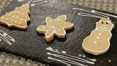 Galletas de Navidad sin lactosa