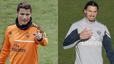 Real Madrid - PSG, duelo entre Cristiano e Ibrahimovic