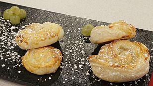 Saber Cocinar - Postres - Espirales con crema de turrón