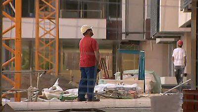 La construcción ha sido el único sector en el que han crecido las listas del paro en diciembre